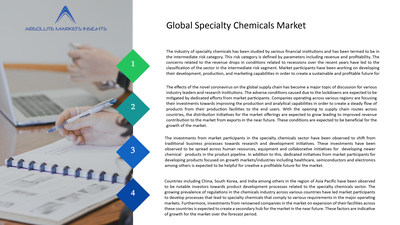 Specialty Chemicals Market will grow to US$ 912.19 Bn by 2028