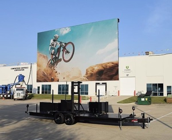 Ultimate Outdoor Entertainment Mobile LED Screen Trailer