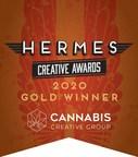Cannabis Creative Wins Hermes Creative Gold Award for E-Commerce...