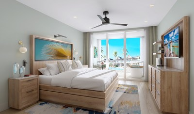 Guests visiting Sandals Royal Caribbean can now stay in fully reimagined rooms