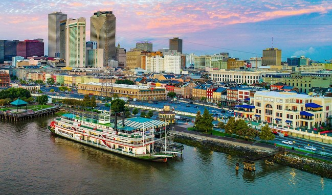 View of the New Orleans skyline