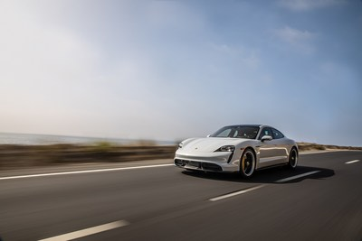 Porsche Taycan charges ahead in first year on American roads.