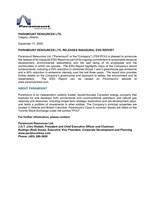 Paramount Resources Ltd. Releases Inaugural ESG Report (CNW Group/Paramount Resources Ltd.)