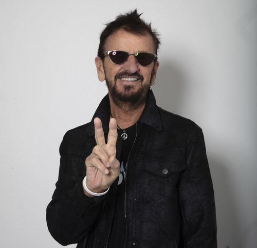 """As this crazy year comes to a close, Ringo is offering a song of peace, love and friendship – """"Here's To The Nights"""" available today as a single - (with the video coming Friday December 18).   Photo by Scott Robert Ritchie"""