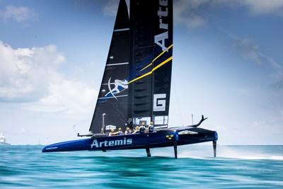 Artemis Racing AC50 during 35th America's Cup in Bermuda - © Sander van der Borch / Artemis Racing (PRNewsfoto/Gunvor Group)