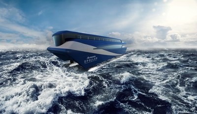 Artemis eFoiler™ Ferry Concept -  © Artemis Technologies Ltd Artemis Gunvor Sailing (PRNewsfoto/Gunvor Group)