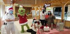 No Longer A Mean One, The Grinch Delivers Holiday Cheer To Carnival Crew