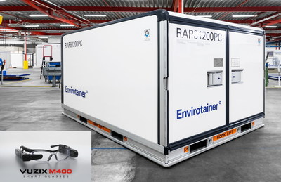 Envirotainer Deploys Vuzix Smart Glasses-Based Remote Training to Support its Active Temperature-Controlled Containers for COVID-19 Vaccine and Pharmaceutical Shipments