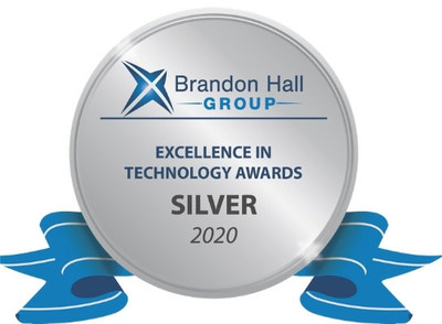 Thought Industries wins coveted Brandon Hall Group silver award for excellence in the Best Advance in Learning Management Technology for External Training category.