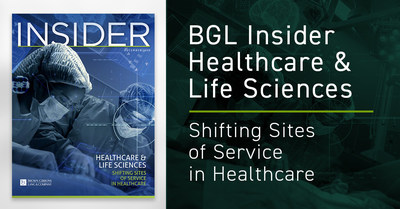 The shift in site of service for care delivery to the ambulatory environment is accelerating, according to the BGL Healthcare & Life Sciences Insider, an industry report released by Brown Gibbons Lang & Company (BGL). Expanding patient choice and economic responsibility, growing payor adoption, and continued technological advancements are all contributing factors to this shift.