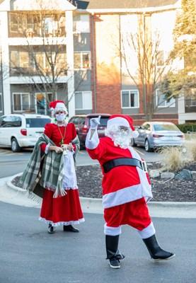 Immanuel Communities brings joy to senior residents this season through a holiday Christmas parade.