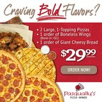 Pasqually's Pizza & Wings Celebrates The Season With New Holiday Offers