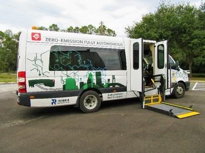 GreenPower's AV Star delivered to Jacksonville Transportation Authority (photo courtesy of GreenPower)