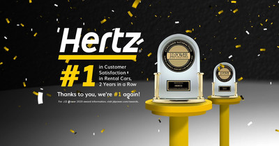 Hertz J.D. Power Award 2020
