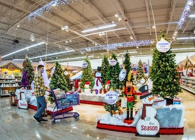 Meijer says it has seen a significant increase in outdoor decorations compared to last year.