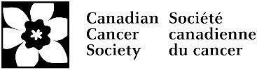 Canadian Cancer Society Logo (CNW Group/Canadian Cancer Society (National Office))