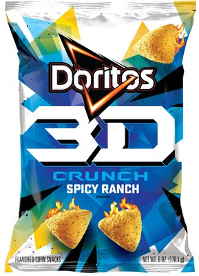 Doritos Unveils New 3D Crunch, Entering a New Era of Three-Dimensional Snacking