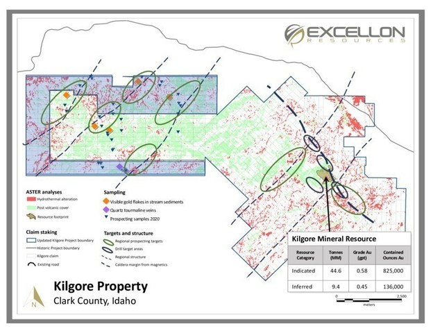 Kilgore Property (CNW Group/Excellon Resources Inc.)