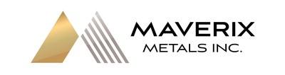 Meverix Metals Inc. Logo (CNW Group/Maverix Metals Inc.)