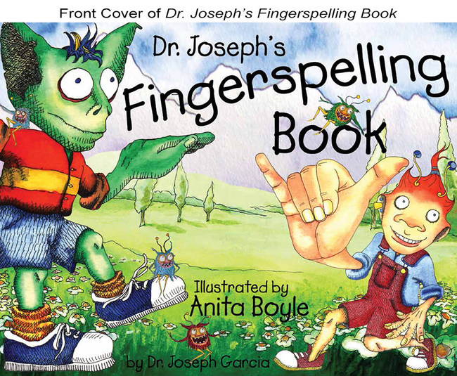 Cover, Dr. Joseph's Fingerspelling Book available at