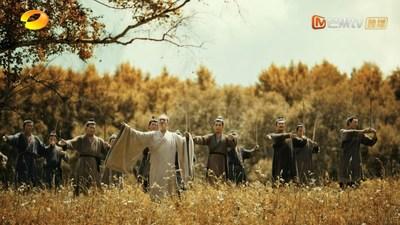 """""""El periodo de primavera y otoño"""" en el episodio 1 de CHINA: Confucio enseña los ritos a sus discípulos. (PRNewsfoto/Mango TV)"""