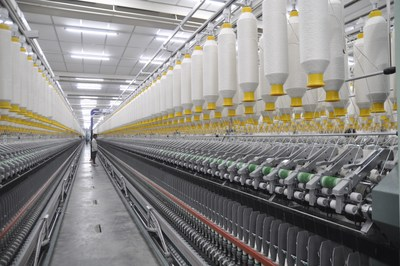 Jhalawar facility having Installed capacity of 1.5L spindles and 2400 rotors (PRNewsfoto/SVP Global Ventures)