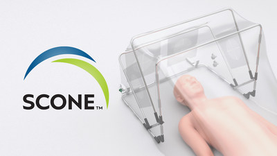 The Self-Contained Negative Pressure Environment turns any hospital bed into a small-capacity isolation chamber to protect Healthcare Workers and other patients in hospital settings. The SCONE™ is designed for ER triage, patient transport, certain Aerosol Generating Procedures, planned family visitation, and end-of-life care.