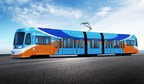 First OC Streetcar Rail Set into Santa Ana, Calif. Street...