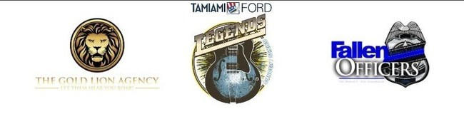The Gold Lion Agency presents The Tamiami Ford Legends Concert Series with proceeds to benefit the Fallen Officers and Robert L. Zore Foundation.