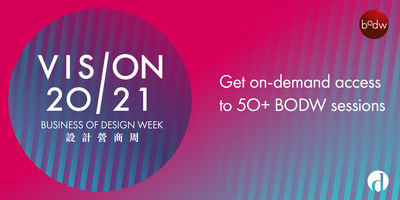 Business of Design Week 2020 Summit Concludes, First Hybrid Live Edition Captures Trends Redefined by World's Top Creative Minds for the Post-pandemic Era