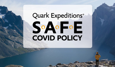 Quark Expeditions launches industry's most rigorous and guest-empowered COVID travel policy in time for 2021 Sailing Season