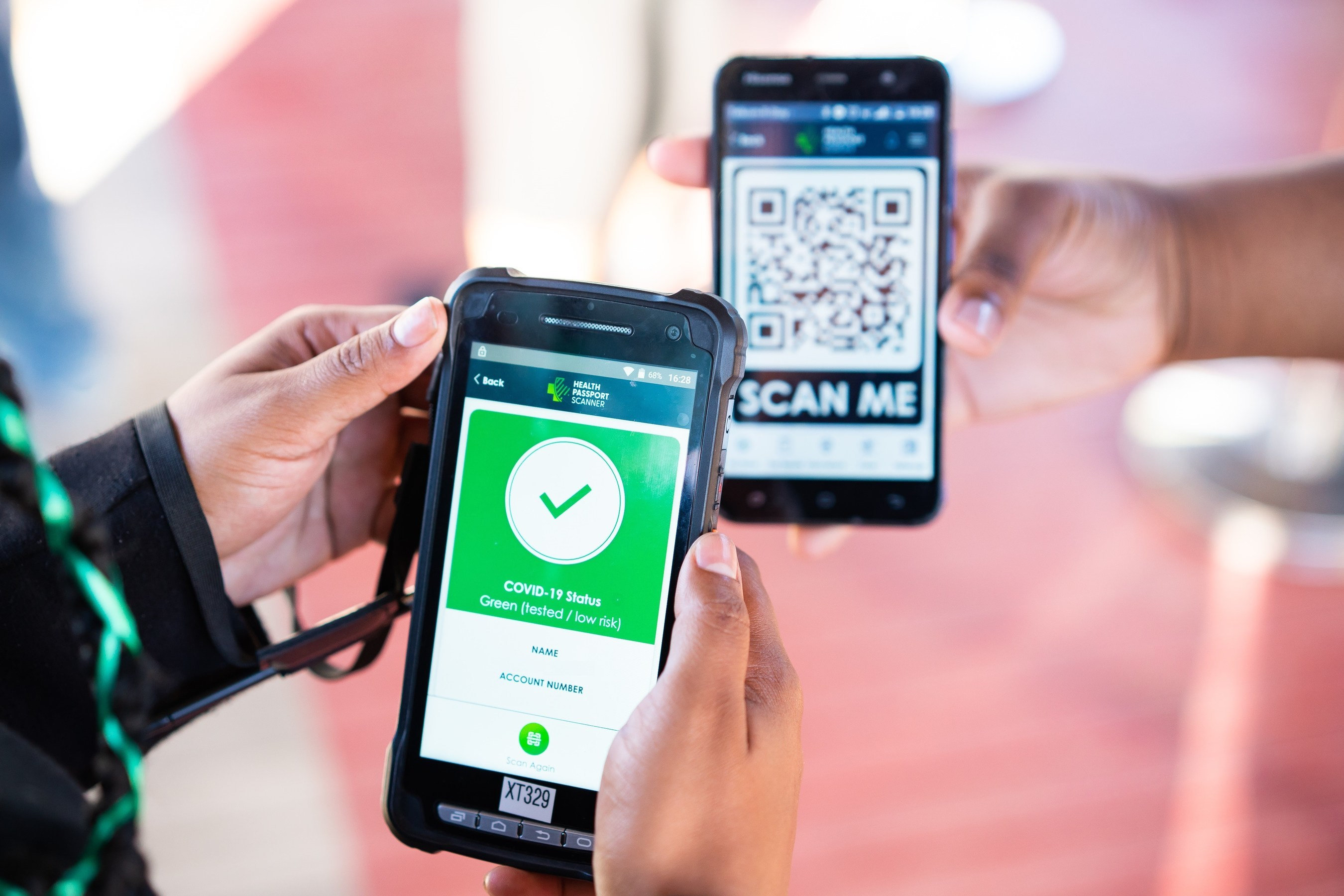 Irish Health Passport App deployed in South Africa as part of International Music Events re-opening