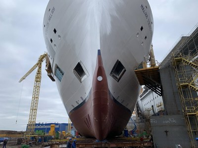 "Viking's first expedition ship, the Viking Octantis, was ""floated out"" on December 22, 2020. The 378-guest vessel is scheduled to debut in summer 2022 and will sail voyages to Antarctica and North America's Great Lakes. For more information, visit www.viking.com."