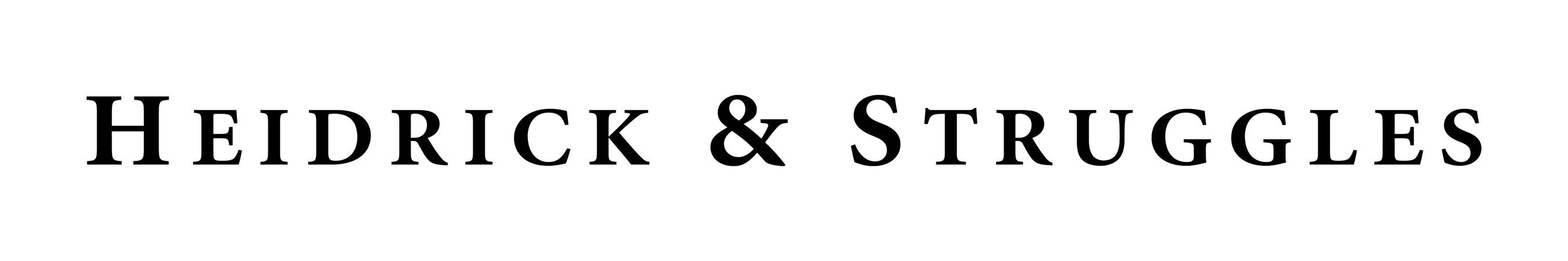 Heidrick & Struggles Logo (PRNewsFoto/Heidrick & Struggles)