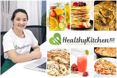 Healthy Kitchen 101 propose désormais des plans de repas avec des recettes adaptées au chef et approuvées par les nutritionnistes