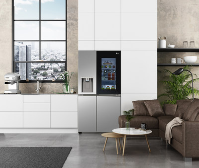 Seamless InstaView® Door-in-Door® Refrigerator with UVnano™