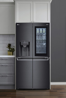 InstaView® Door-in-Door® Refrigerator with Voice Recognition