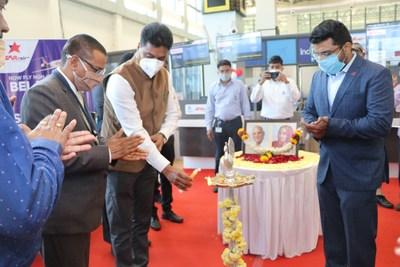 Star Air Belagavi Surat Launch 21st Dec 2020 (PRNewsfoto/Star Air)