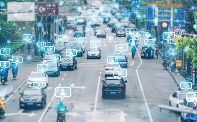 Fotografía de transporte urbano inteligente/Shetuwang (PRNewsfoto/National Business Daily)
