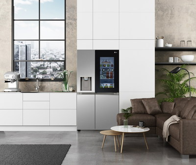 LG InstaView Side by Side Refrigerator