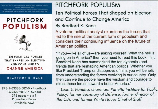 Pitchfork Populism book cover and publisher info