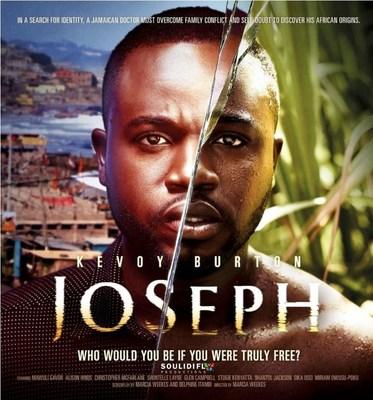 """O filme """"Joseph"""" está alinhado com """"Year of Return"""" (2019) e com """"Decade of Return"""" (2020-2030), atualmente sendo veiculados por líderes africanos e influenciadores globais à medida que as pessoas buscam respostas no presente, procurando pistas do passado. É o vencedor do prêmio """"Best Diaspora Narrative Feature"""" de 2020 no Africa Movie Academy Awards. Foi endossado e apoiado pelos governos de Gana, Jamaica e Barbados e incluído em """"Year Of Return"""", da agência de turismo de Gana. (PRNewsfoto/Soulidifly Productions)"""