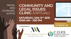 Free Online Forum for Community and Legal Issues Set for January...