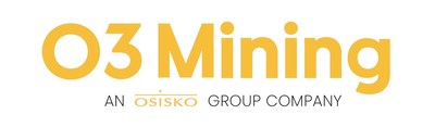 Logo with OSK (Groupe CNW/O3 Mining Inc.)