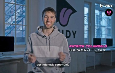 Patrick Colangelo, Founder and CEO of VIDY