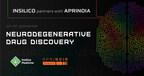 insilicon与APRINOIA合作,应用新型生殖人工智能驱动系统,发现神经退行性疾病的新化合物