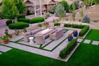 Artificial Grass Installation Turns Desert Landscape into Stunning Oasis