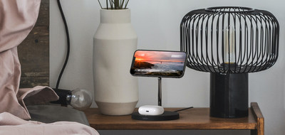 Belkin BOOSTCHARE PRO 2-in-1 Wireless Charging Stand with MagSafe