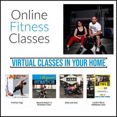 Online Fitness Classes.