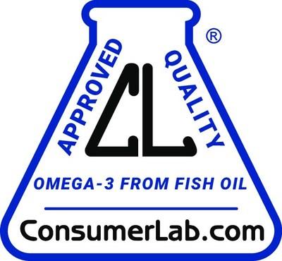 ConsumerLab.com seal for USANA's  BiOmega supplement